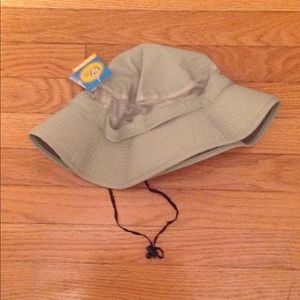Bucket hat with mesh Sz:2xl/3xl, tan